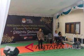 Bangka Belitung miliki tujuh rumah pintar pemilu