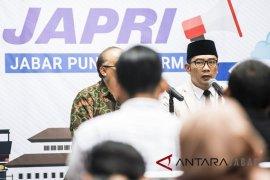Ridwan Kamil umumkan keputusan UMP Jabar naik 8,03 persen