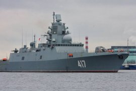 Rusia kerahkan kapal perang dengan peluru kendali jelajah Timur Tengah