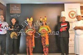 Ragam kuliner Bali tersaji di festival India
