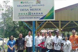 Desa Merek ditetapkan sebagai desa jaminan sosial ketenagakerjaan