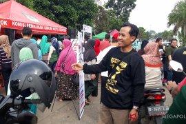 KPU Depok sosialisasikan pemilu di CFD