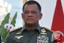 Gatot Nurmantyo dan 130 Pati TNI AD diwisuda KASAD