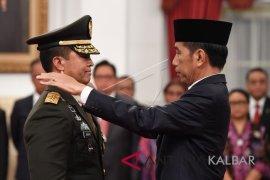 Presiden tegaskan penunjukan KSAD sudah diperhitungkan
