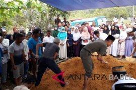 Suasana Pemakaman Restia Amalia Korban Pesawat Jatuh