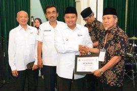 144 warga Jabar terima penghargaan donor sukarela dari PMI