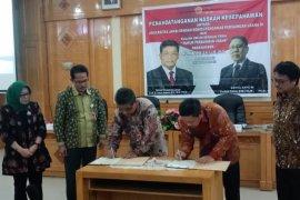 Unja dan KPPU RI tandatangani kesepahaman