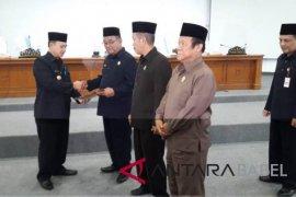 Pemkab Bangka harapkan ajuan Raperda RPJMD segera selesai