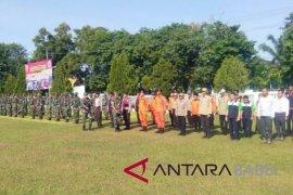 Korem 045 Garuda Jaya gelar latihan penanggulangan bencana