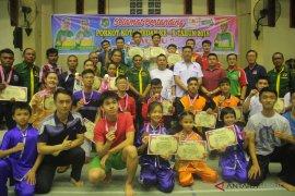 KONI Depok apresiasi kejuaran Wushu di UI