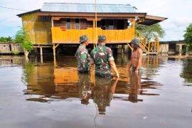 Banjir melanda sebagian wilayah di Kabupaten Keerom
