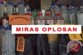 Pesta miras oplosan akibatkan lima warga Bekasi tewas