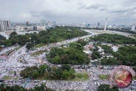 Peneliti intelijen: Mayoritas peserta reuni 212 pendukung Prabowo-Sandi