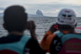 Pos Pengamat: Anak Krakatau tidak terdengar dentuman lagi