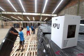 Polisi tingkatkan penjagaan lokasi kotak suara Pemilu 2019