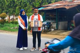 Duta pariwisata galang dana untuk korban kebakaran Sibolga