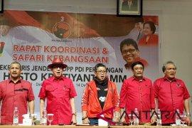 Elektabilitas Jokowi-Ma'ruf di sejumlah daerah di Sumut ditargetkan 65 persen