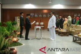 Gubernur Babel lantik Bupati dan Wakil Bupati Belitung