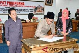 Legislatif dan Eksekutif tandatangani RAPBD Batanghari 2019
