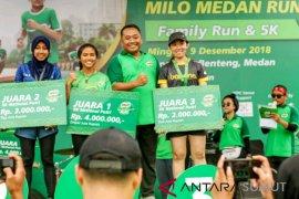 MILO Medan Run sukses dan jadi kegiatan tetap