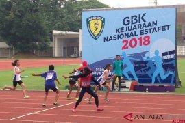 Kontingen Jatim dan Jabar sama-sama unggul di Kejurnas Estafet 2018