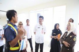 Sekda-Kajari monitoring bangunan fisik RSUD H Boejasin