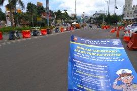 Jalur Puncak ditutup masyarakat diimbau melintas lebih awal