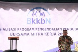 BKKBN sosialisasi program pengendalian penduduk