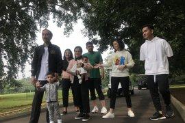 Jokowi dan keluarga jadi 'trending topic' #JokowiKeluargaHarmonis