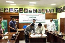 Kerja sama PT Penjaminan Jamkrindo Syariah dengan PT Nusa Tenggara Barat Syariah Ditandatangani