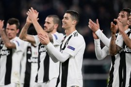 Penalti Ronaldo jadi penentu kemenangan Juve atas Torino