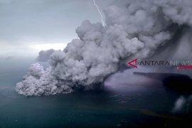 Status Gunung Anak Krakatau meningkat jadi siaga