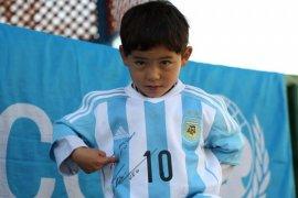 """""""Messi kecil"""" dari Afghanistan ungsi akibat ancaman Taliban"""
