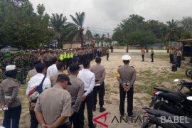 163 personel Polres Bangka Barat amankan perayaan Tahun Baru