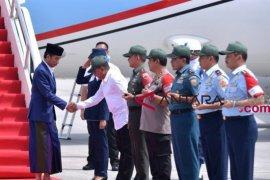 Presiden Jokowi kunjungan kerja ke Sumatera Utara