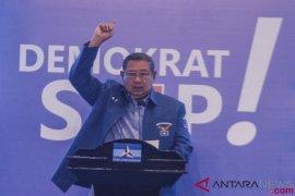 SBY percaya polisi ungkap perusakan atribut Demokrat