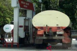 Sejumlah truk industri diduga kerap isi solar subsidi di Nagan Raya