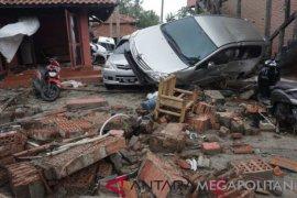 Jumlah korban luka berat tsunami Pandeglang 476 orang