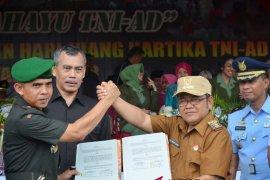 """Danrem : Gorontalo Utara """"Pilot Project"""" Budidaya Perikanan"""