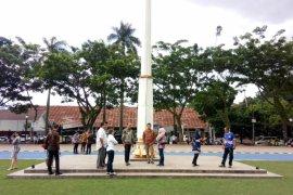 Doa bersama tahun baru dipusatkan di Lapangan Sempur