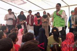 Menteri PPPA kunjungi pengungsi anak dan perempuan korban tsunami