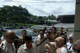 Prabowo Subianto kunjungi MUI Maluku