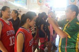 Labuhan-Medan Timur Juara Basket Porkot