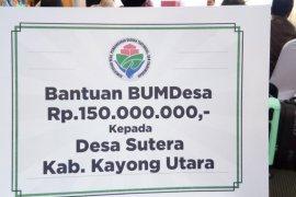 Desa Sutera dapat bantuan pengembangan Bumdes Rp150 juta
