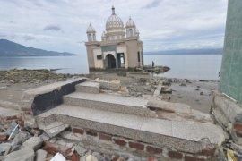 Masjid terapung pascabencana Palu jadi destinasi wisata