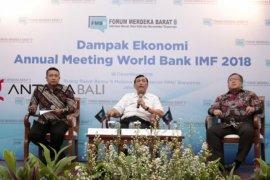 Bappenas: keuntungan ekonomi Pertemuan IMF-WB di Bali Rp5,5 triliun