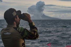 Aktivitas Gunung Anak Krakatau menurun