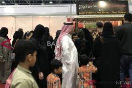 Kuliner Nusantara diserbu pengunjung Indonesia Expo di Arab Saudi