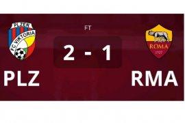 Plzen kalahkan Roma, dan dapatkan tiket Liga Europa