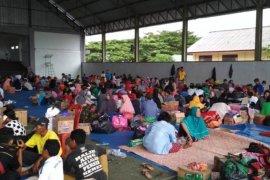 Korban tsunami Lampung di tenda pengungsian